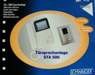 Schwaiger Bild / Tür Sprechanlage STA 500 neuwertig: