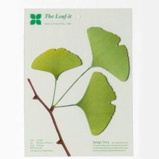 Leaf it Design Haftnotizen von Apree   Ginko   Grün   Größe L