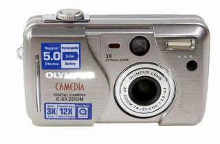 Olympus Camedia C 50 5.0MP Digital Camera