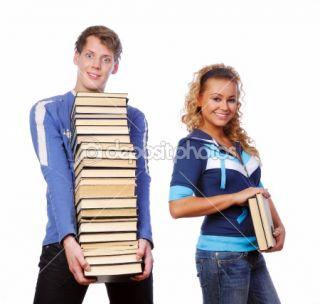 Crazy students  Zdjęcie stockowe © Vitaly Valua #1478714