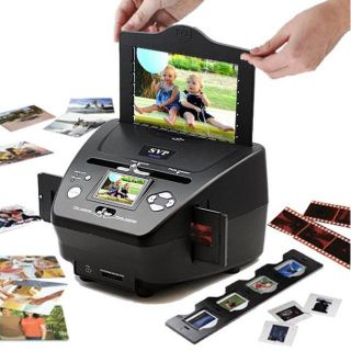 SVP PS 9700 3 in 1 Digital Photo/ Slide/ Film Scanner with 2GB SD Card