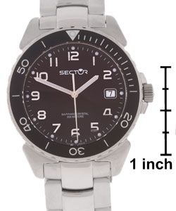 Sector 450 Date Mens Stainless Steel Watch