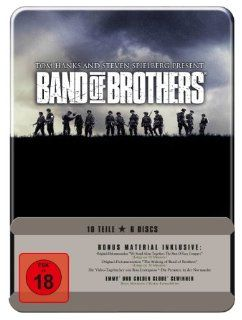 Band of Brothers   Wir waren wie Brüder Metall Box Set 6 DVDs