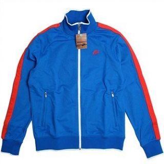 Nike N98 Retro Track Top Jacke blau rot: Bekleidung
