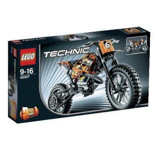 Lego 42007 La moto cross   Achat / Vente JEU ASSEMBLAGE CONSTRUCTION