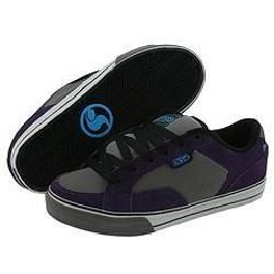DVS Shoe Company Carson Purple/Grey Suede