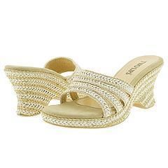 Two Lips Darbi Natural/White Sandals