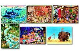 Puzzle Mordillo Cartoon Classics sortiert, 1.000 teilig
