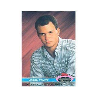 1992 Stadium Club Dome #143 Jason Pruitt RC Collectibles