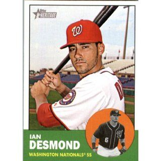 2012 Topps Heritage 149 Ian Desmond   Washington Nationals