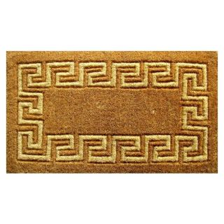 Greek Key Coir Door Mat (36 x 60)