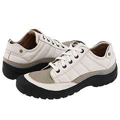 Kenneth Cole Reaction If U Dare White Leather Athletic
