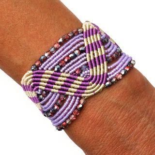 Raisa Lilac Breeze Bracelet (Guatemala)