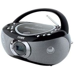 Coby MP CD455 Radio/CD Player Boombox