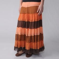Adi Designs Options Juniors Tiered Gauzy Skirt