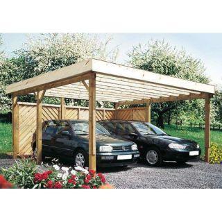 524 x 500 x 260 cm Garage carport avec c… Voir la présentation