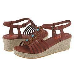 KORS Michael Kors Kids Miss Natalie (Youth) Cognac Antic Brush Off