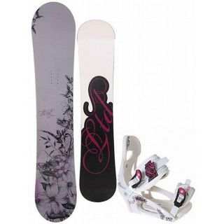 LTD Muse 154 cm Womens Snowboard with LTD LT250 Bindings