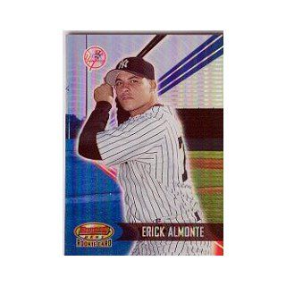 2001 Bowmans Best #151 Erick Almonte RC /2999