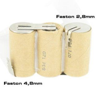 Akku passend für Gardena ACCU 60 mit Faston 2,8 und 4,8mm