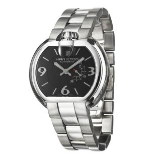 Hamilton Mens US 66 Stainless Steel Automatic Watch