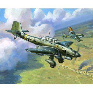 Zvezda Models 1/144 Junkers JU 87 Stuka (Snap Kit) Toys