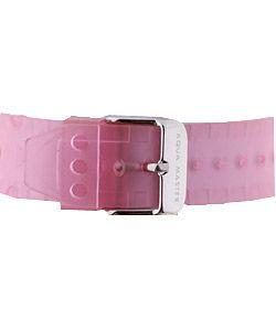 Aqua Master Womens Pink Diamond Sport Watch