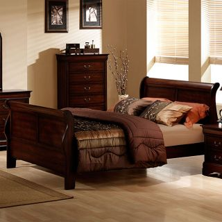 Madison Louis Philippe Queen size Bed