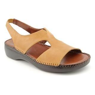 Auditions Womens Cheyenne Leather Sandals   Narrow
