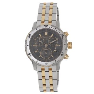 Tissot Mens PRS 200 Grey Dial Two Toned Stainless Steel Watch MSRP