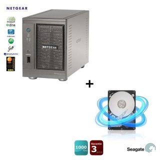 SERVEUR STOCKAGE   NAS Netgear ReadyNas Ultra 2b+Seagate 1To 32Mo 3.5