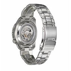 Bulova Mens Marine Star Stainless Steel Automatic Watch