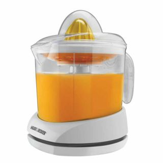 Black & Decker Citrus Juicer Today $25.49 4.7 (6 reviews)