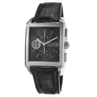 Maurice Lacroix Mens Pontos Black Dial Chronograph Automatic Watch