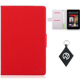 Kindle Fire Sleeve Case Red Book Shelf. Includes