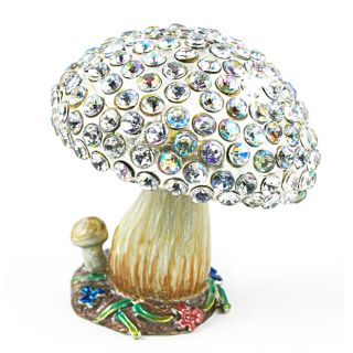 Objet dart Whimsical Magic Mushroom Trinket Box