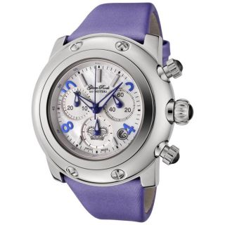 Glam Rock Womens Miami Violet Techno Silk Watch