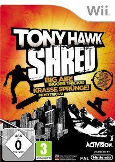 Tony Hawk: Shred: Games