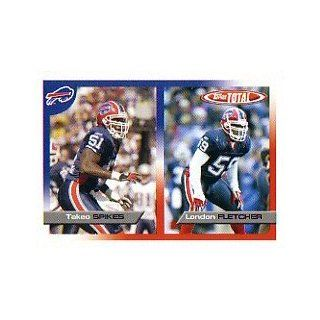 2005 Topps Total #154 Takeo Spikes/London Fletcher