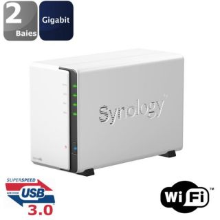 Synology Boîtier NAS 2 Baies WiFi DS 213AIR   Achat / Vente SERVEUR