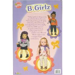 Little Darlings B. Girlz Fully Posable Doll with accessories (18