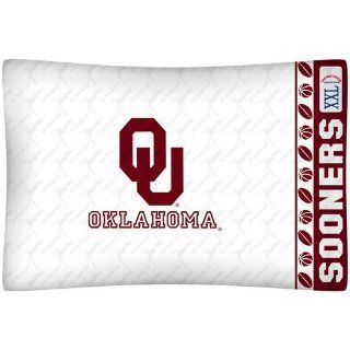NCAA Oklahoma Sooners Pillow Case Logo Sports & Outdoors