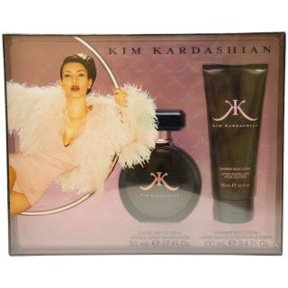 Kim Kardashian Womens Two piece Casual Alluring Fragrance Gift Set