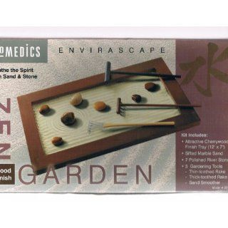 Zen Garden Kit (12 X 7) Cherrywood Tray Everything Else