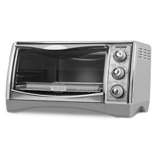 Black & Decker CTO4500S 6 Slice CounterTop Convection Oven with Pizza