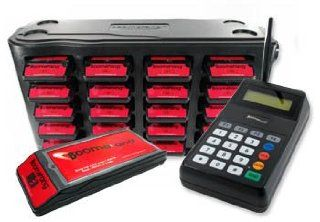 Guest Paging System   Boomerang Voice Pager System Office