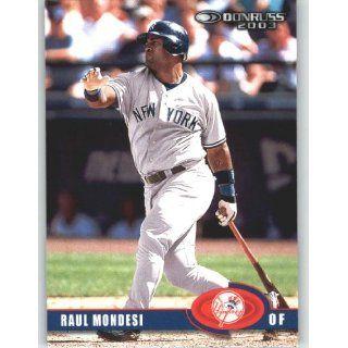 2003 Donruss #166 Raul Mondesi   New York Yankees (Baseball Cards)