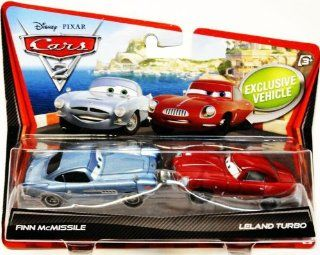 Disney / Pixar CARS 2 Movie 155 Die Cast Car 2Pack Finn