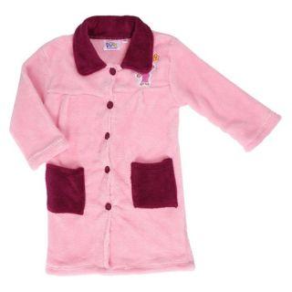 DORA Robe de chambre Fille Rose Rose et prune   Achat / Vente SORTIE