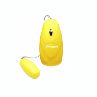 Pipedream Products Neon Luv Touch Yellow 5 function Bullet